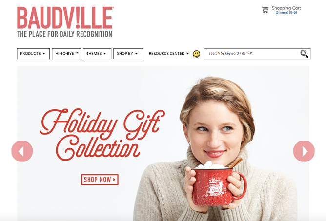 Baudville vacation homepage