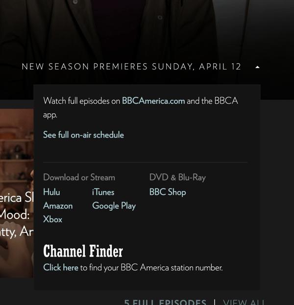 bbc wordpress plugin dropdown menu with seasons