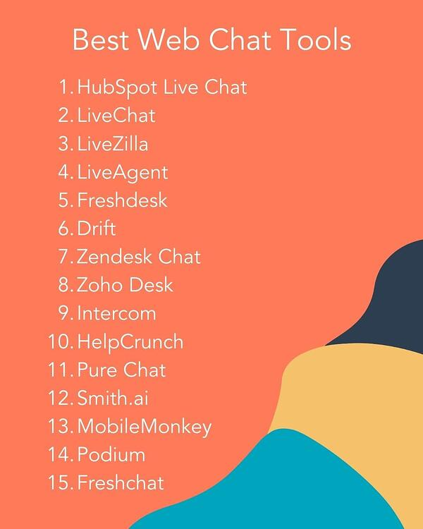best web chat tools