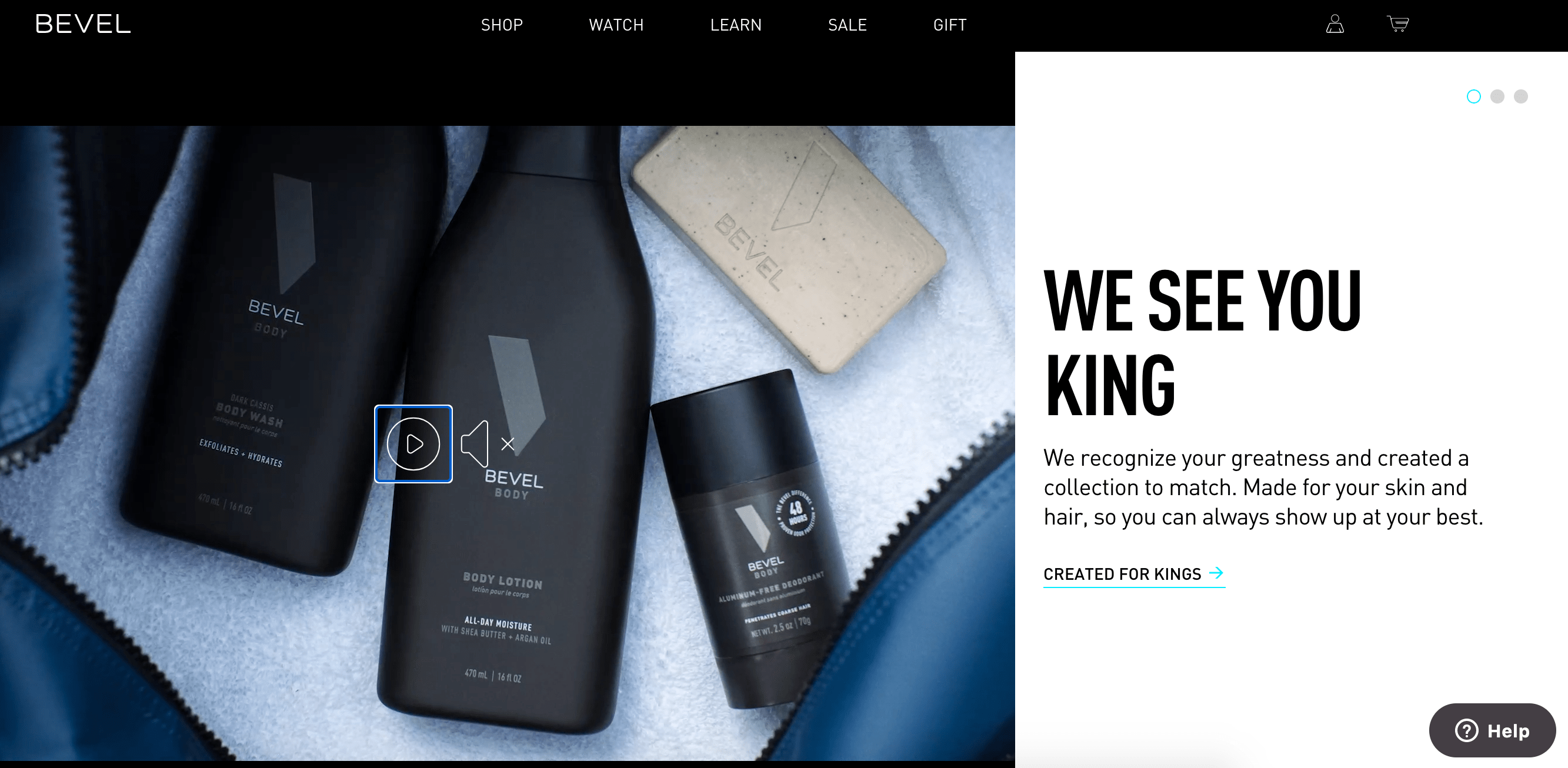 bevel example of powerful black-owned business marketing