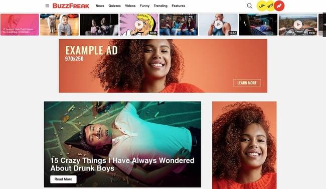 Best viral WordPress themes: Bimber