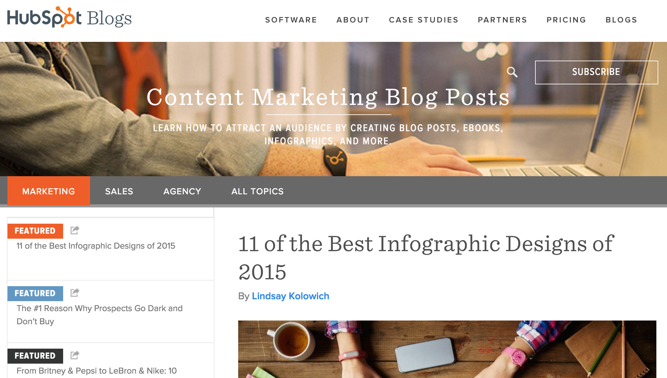 Blog Topic Pages