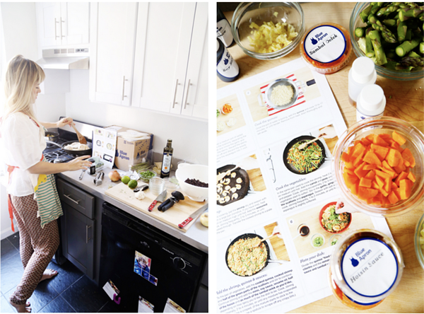 blue apron d2c brands marketing influencer marketing