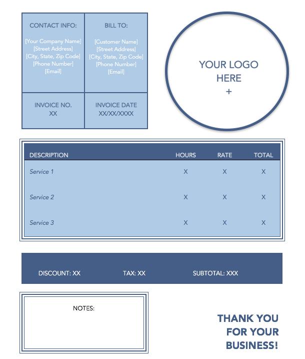 blue-service-invoice-template