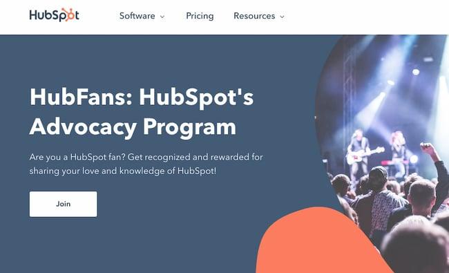 Brand awareness example: HubSpot