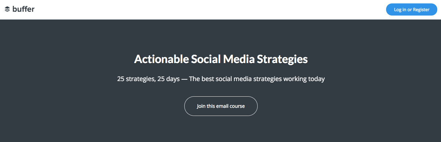 buffer_email_course.png  15 Creative Lead Generation Ideas to Try buffer email course