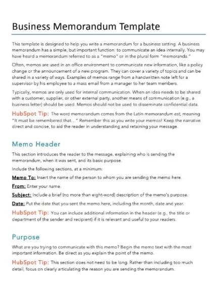 business-memo-template-hubspot