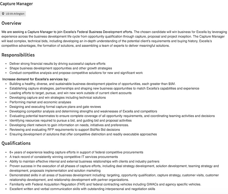 capture manager job description-1