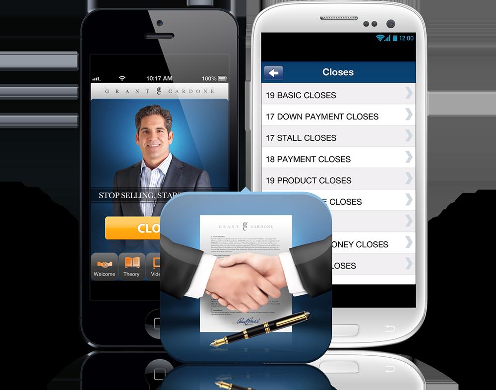 close-the-sale-sales-app