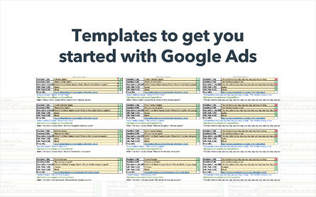 google ads planning template for free