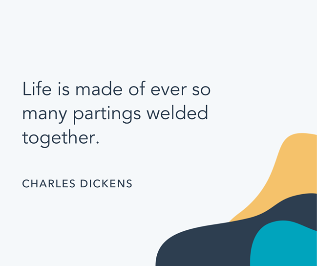 Famous quote by Charles Dickens