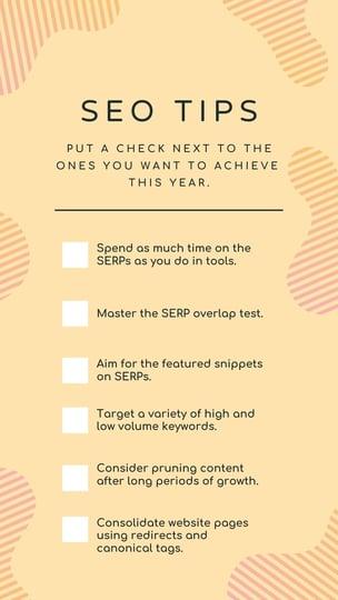 downloadable SEO checklist