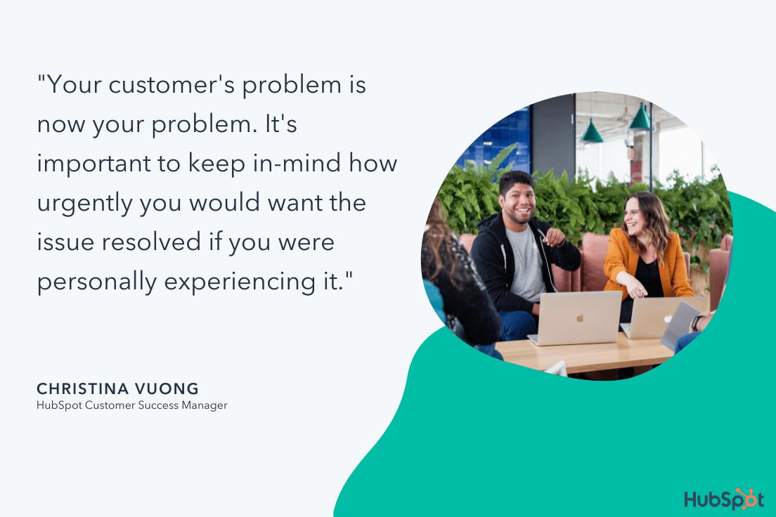 christina vuong tip for customer service