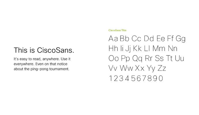cisco-sans-typography