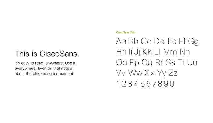 cisco-sans-typography