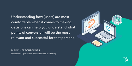 Content mapping tip from Marc Herschberger