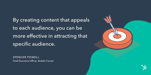 Content mapping tip from Spencer Powell