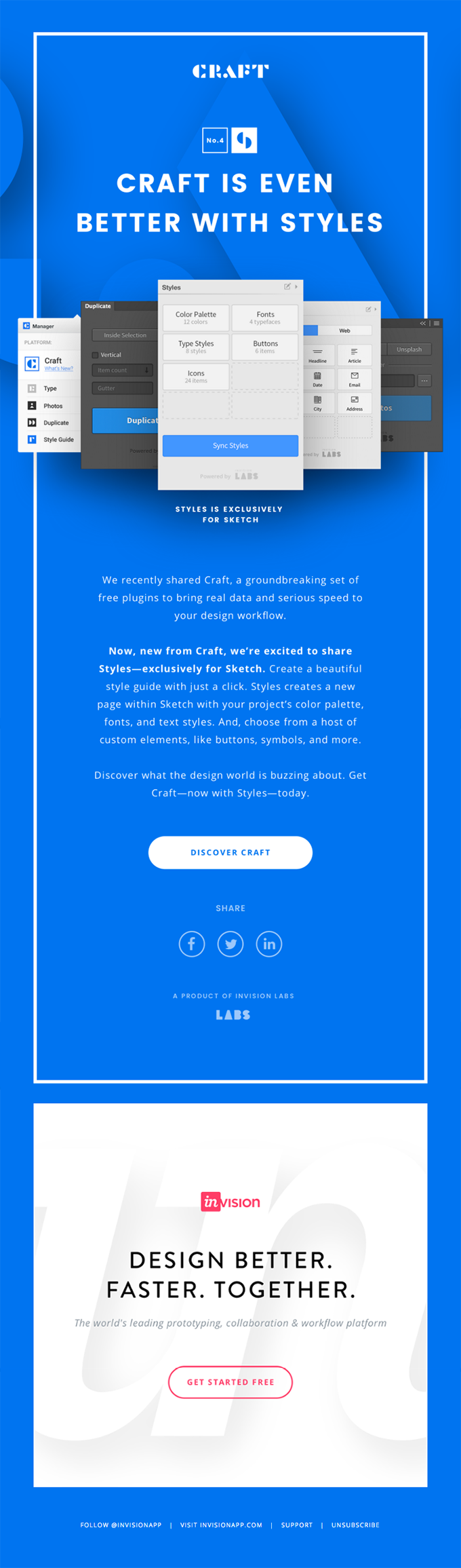 of the Best Examples of Beautiful Email Design