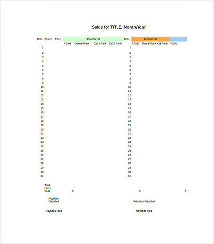 daily sales tracking template from template.net