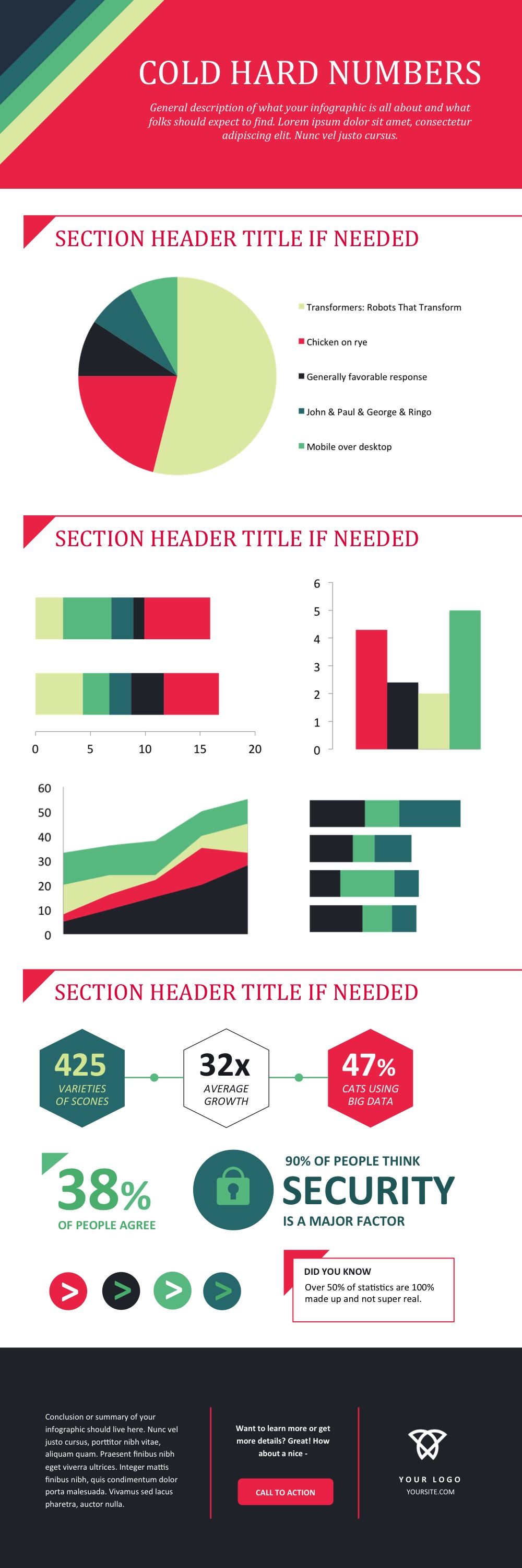 how to make an infographic in under an hour [15 free infographic, Presentation templates