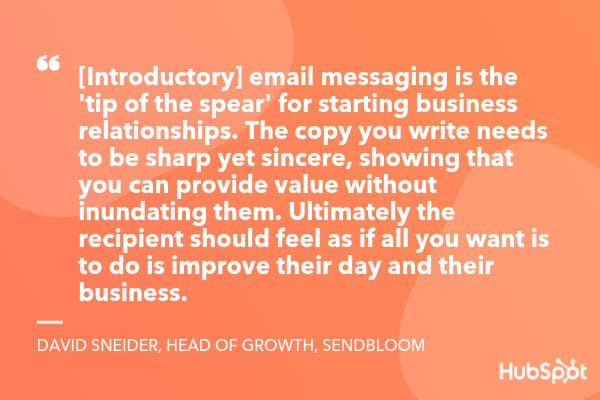 quote about business emails