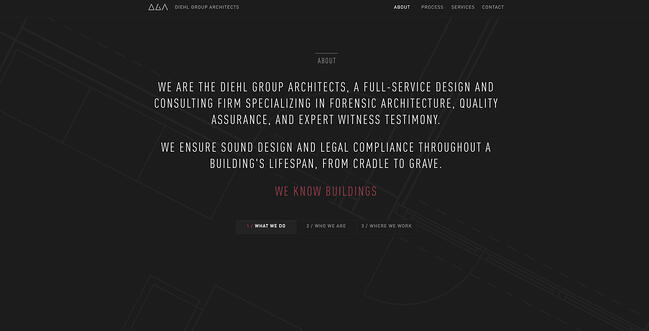 Company profile example: Diehl Group Architects