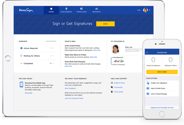 docusign-sales-app