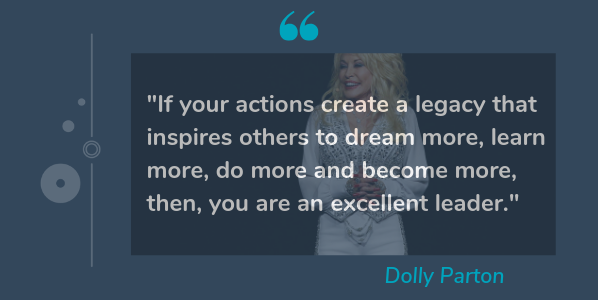 dolly parton quotes from female leaders
