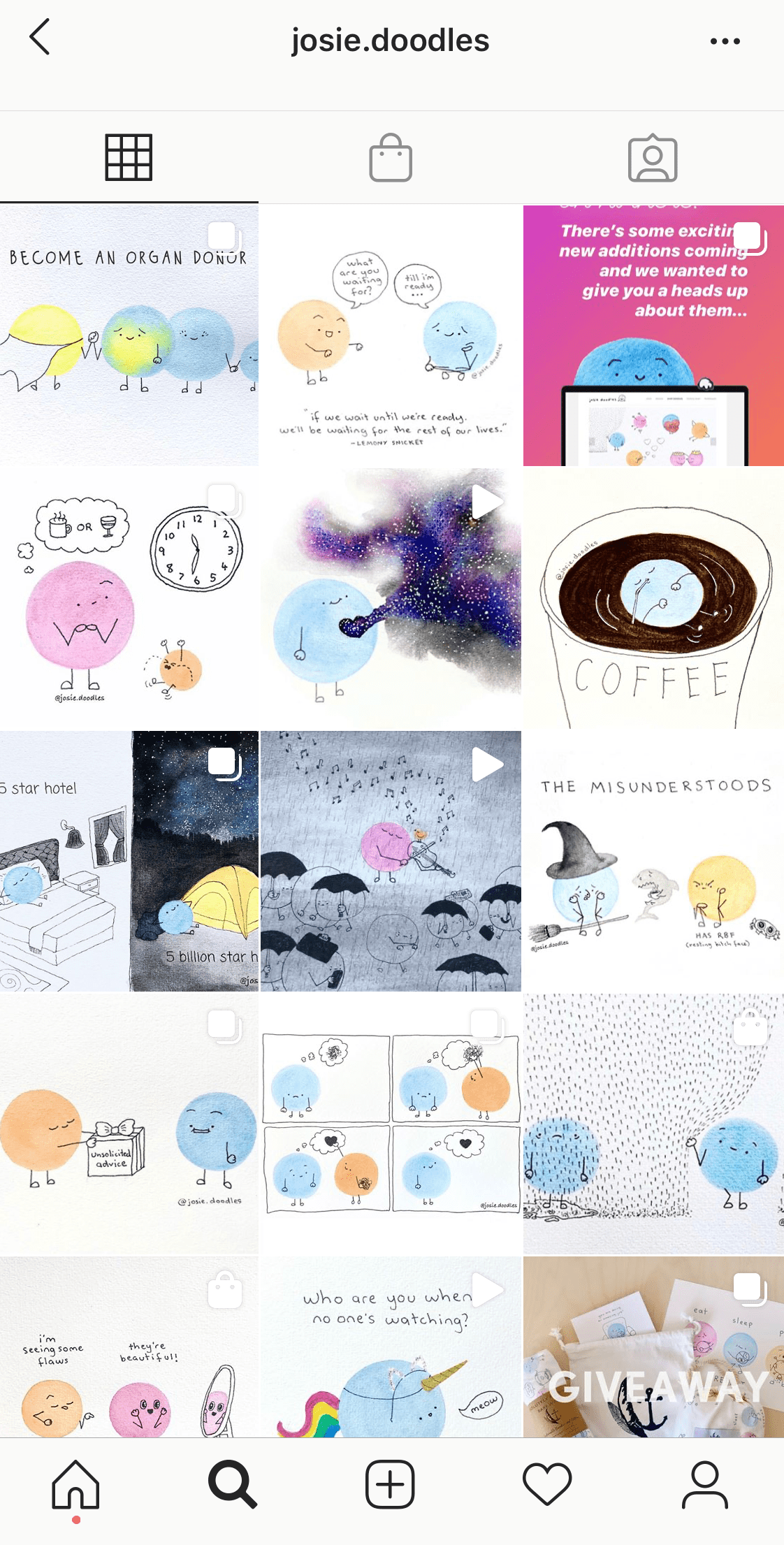 doodles-instagram-theme