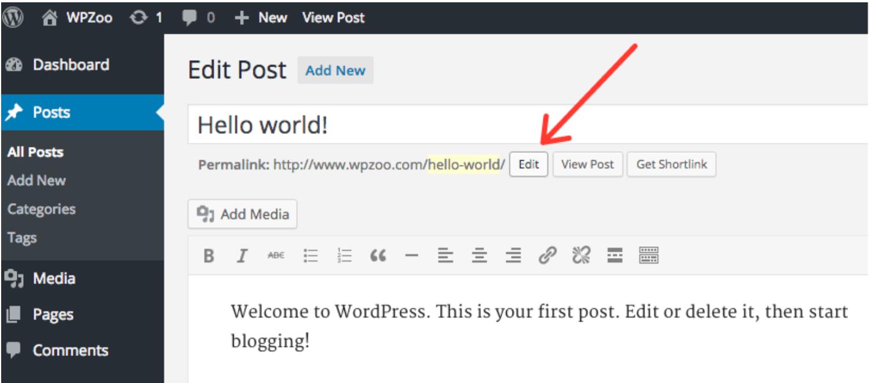 edit permalinks wordpress permalinks for seo