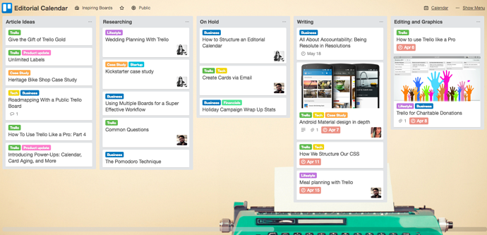 how to use trello for business