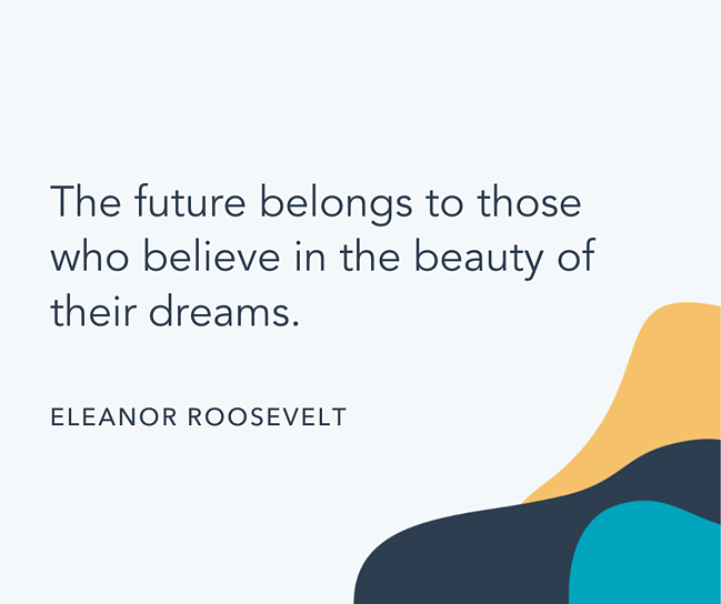 Famous quote by Eleanor Roosevelt