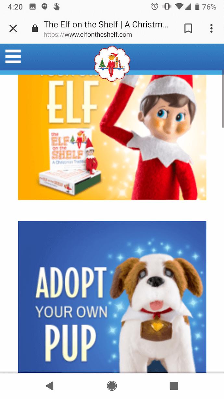 elf-on-the-shelf-mobile-website