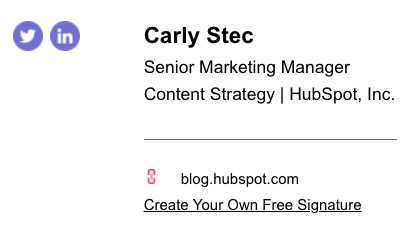 email-signature-blog-link