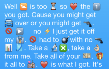 emoji_song_lyrics.png  Easy as ?: How to Boost Engagement with Emoji Push Notifications emoji song lyrics