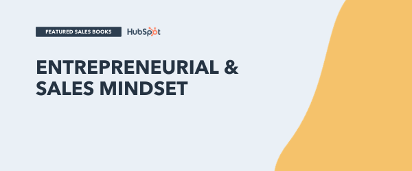 entrepreneurial and sales mindset books