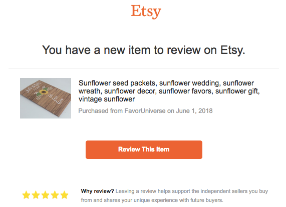 etsy review