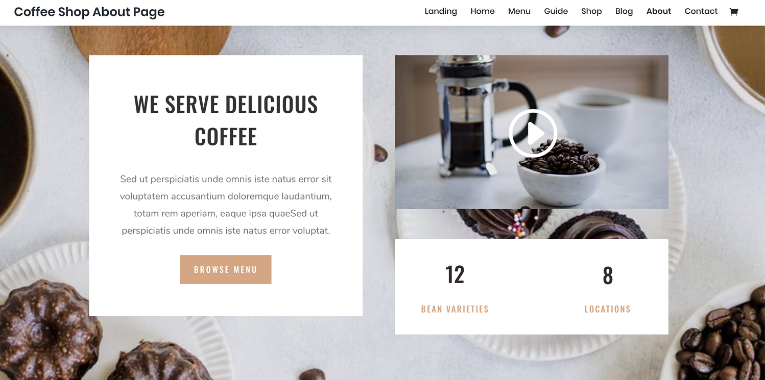 example divi theme review
