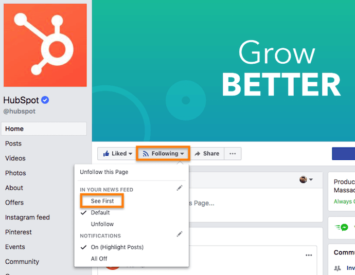 See First option on Facebook Business Pages helps publishers increase organic reach despite the News Feed algorithm update.
