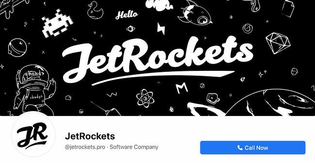 Facebook Page cover from JetRockets' FB Page
