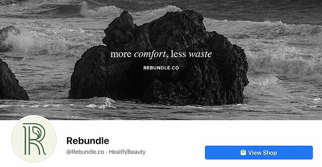 Facebook Page cover from Rebundle's FB Page