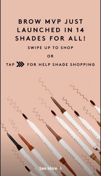 fenty shoppable ad