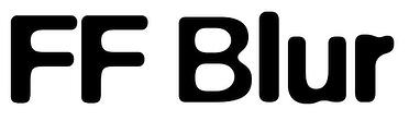 ff-blur-font