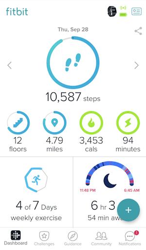 fitbit-commuting-app