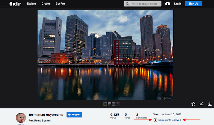 Image of Boston on Flickr under the Creative Commons Attribution license