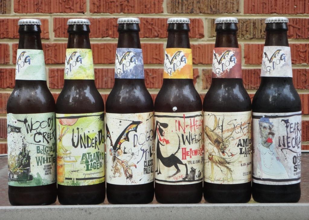 flying-dog-beer  The 14 Coolest Beer Label Designs You've Ever Seen flying dog beer 1