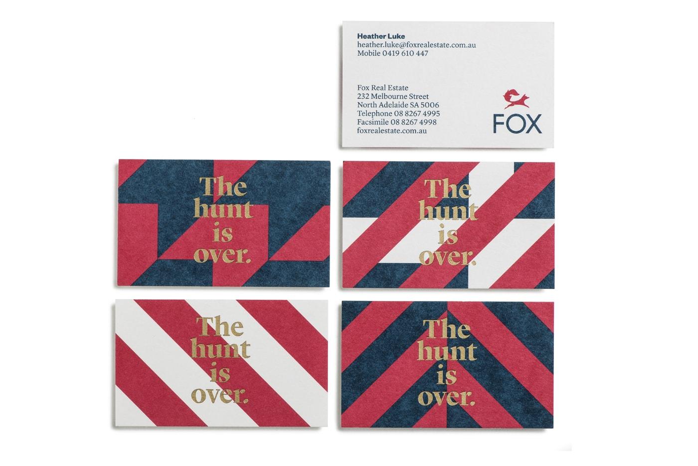 fox-real-estate-realtor-business-card