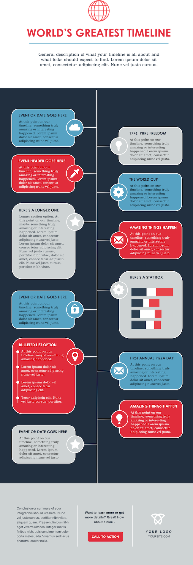 free-infographic-template.png  How to Create Infographics in Under an Hour [15 Free Infographic Templates] free infographic template