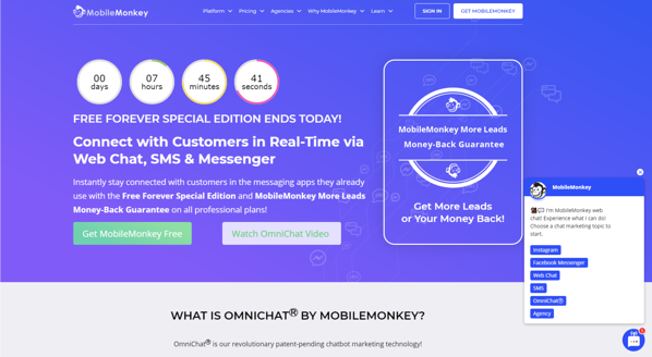 free-tools-mobilemonkey-chatbot-platform