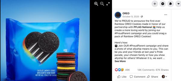 Facebook Giveaway Beispiel